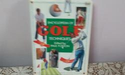 I have one encyclopedia of golf techniques book for