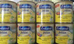 Enfamil Infant Milk formula for sale (0-12 months).