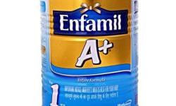 Brand new unopened carton (4x400g packet) of Enfamil