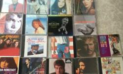 18 CDs at $40/-. All original Artists and Labels.