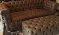 ENJOY THE STYLE & DESIGN OF AN ENGLISH CHESTERFIELD