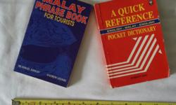 English/Malay Translation Dictionary and phrase book.