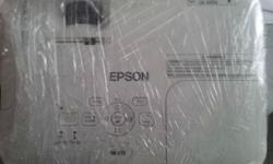 Seldom used Epson projector with ceiling mounting