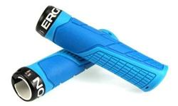 Ergon GE1 Lock On Handlebar Grips - Blue S$44 (For
