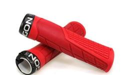 Ergon GE1 Lock On Handlebar Grips - Red