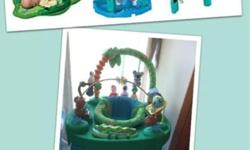 Evenflo Triple Fun Exersaucer, excellent working