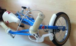 Children bicycle for 3-7 age group use. very good