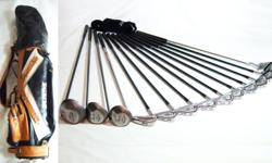 ExCeLLenT CoND iTioN RAM GraPhiTe Golf Set with Bag