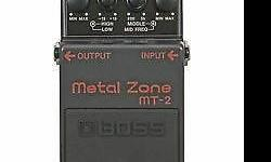 The Boss MT-2 Metal Zone Guitar Pedal offers precision