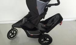 Phil & Teds pram + doubles seat for sale in excellent