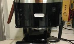 4 years old, Pump espresso coffee machine �2 in 1�