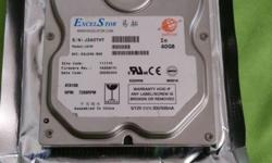 Hi, Have a spare a 3.5in 40GB hard disk drive with