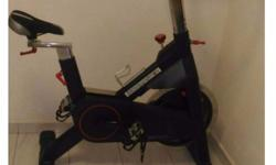 - Iron Master Commercial Spin Bike - Model number :