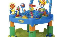 Exersaucer Triple Fun Great for keeping my son