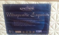 king size king koil bed purchased in october 2013. we