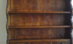 Exquisite Carved Teak Cupboard Cabinet- $500 Comes with