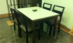 Extendable dining table, bought new 3 years ago for