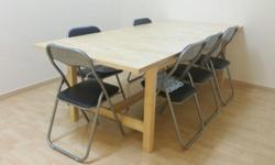 2 tables for sale. Able to be extended to become