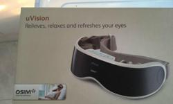 Brand new eye massage uvision from OSim for Sale.