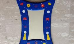 Fancy Craft Child Mirror Bought in Brighton in England
