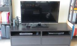 FANTASTIC PRICE IKEA BENNO TV STAND WITH DRAWERS AND