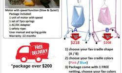 Manual cradle / yaolan package included: ~One hanger,