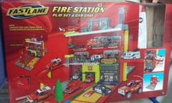 Fast Lane Fire Station (portable). Price: 15 S$.