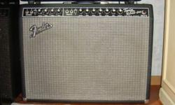 The classic guitar amp used by the stars. 85Watts of