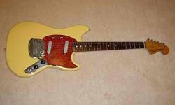 Selling a good condition Fender Mustang (Crafted in