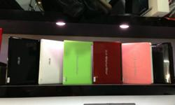 Acer Aspire one-Green,Red and Pink Avail Asus-Black and