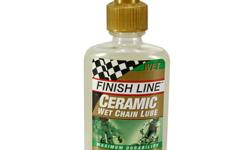 Finish Line Ceramic Wet Bike Chain Lube 60ml