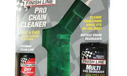 Finish Line Pro Chain Cleaner Set - Dry Lube