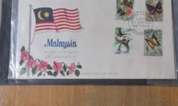 Malaysia butterfly series 70's .Prefer meet up at