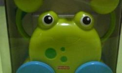 Fisher-Price Growing Baby Pull Along Froggie   Age: 12