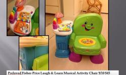 Preloved Fisher-Price Laugh & Learn Musical Activity