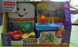 Fisher-Price - Learning Kitchen (6-36 months)-   Helps