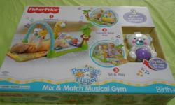 Fisher-Price ? Mix & Match Musical Gym Age : Birth &