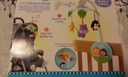 Fisher Price 2 in 1 Musical Mobile at $28.