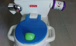 a good condition Fisher Price Potty with music to