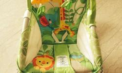 Fisher price rocker with vibrator, can be converted