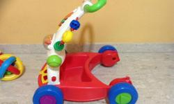 Hi All, I am selling a fisher price walker which has