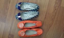 1.FLAT SHOES FOR SALES. AT $10.00 EACH. SIZE 6 2.