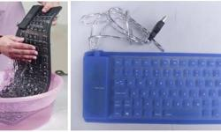 FLEXIBLE SILICON KEYBOARD � Super Slim, Flexible and