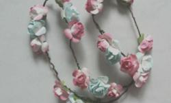 Triplet flowers: $10 Colours: Pink & Blue (pre-loved)