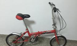 Foldable bicycle for sale. Well maintained. 16""