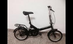 "Foldable bicycle for sale 16"" . Well maintained"