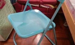 Lightly used foldable chair for sale. Light and easy