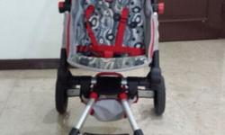 For Sale ::- Preloved foldable compact buggy. 2 yrs