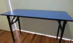 Moving Sale - Folding Table - $15 120cm wide x 50cm