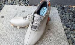Selling a pair of Footjoy D.N.A. BOA leathergolf shoe.